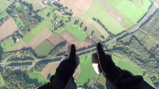 Skydiving in Marl / Germany (my first jump) with music