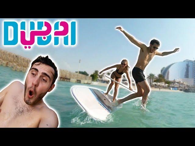 CRAZY FIRST DAY IN DUBAI!!