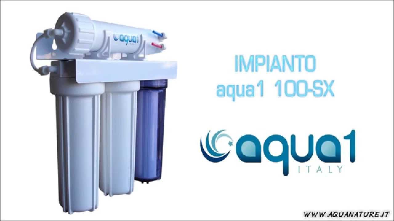 Impianto ad osmosi inversa per acquari come funziona for Filtro acquario fai da te