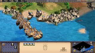 【実況】Age of Empires 2 フランシスコ デ アルメイダ 帝国の落日(反乱軍側) 簡単