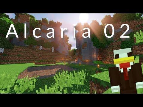 ALCARIA #02 : L'escalier qui descend ! (et qui monte du coup)