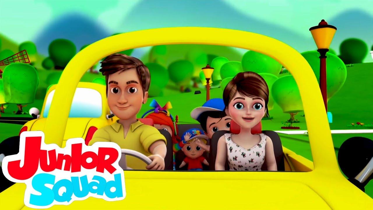 Dirigindo na estrada   Desenhos animado   Canção infantil   Junior Squad Português   Educação