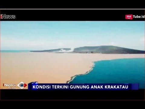 Perubahan Ekstrem Anak Krakatau, Air Laut Berwarna Oranye - iNews Pagi 13/01