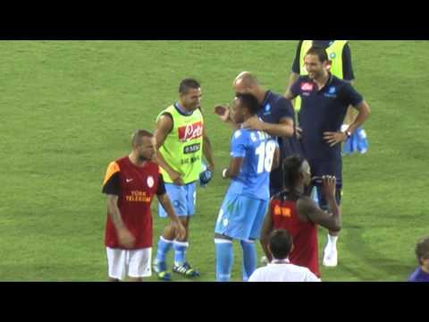 Napoli vs Borussia Dortmund amazing own goal by ZUNIGA (champions league).