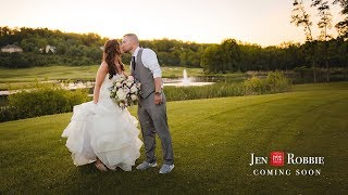 Cobblestone Creek Wedding | Rochester NY Wedding | Jen and Robbie