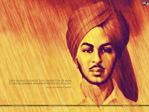 Bhagat Singh Tribute Song by D18 (Raga & DoubLe-S') | MUSIC VIDEO | New hindi songs 2016