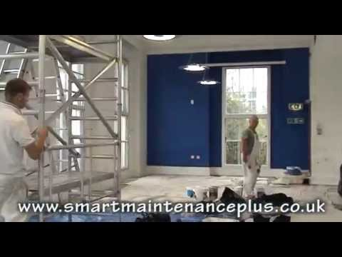 Office Painting & Decorating - SMART Maintenance + Limited