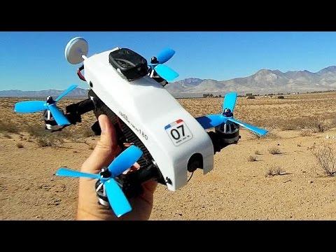 Eachine Racer 180 Tilt Rotor FPV Drone Flight Test Review