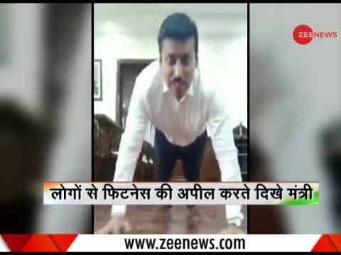 Deshhit: Rajyavardhan Singh Rathore throws fitness challenge