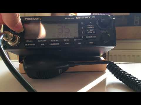 CB Radio; Booting problem with the President Grant II, Part 2