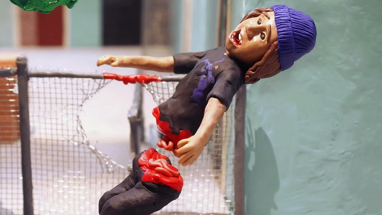 The Skater (a Stop Motion animation)