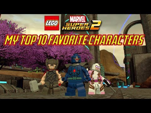 LEGO Marvel Super Heroes 2 - My Top 10 Favorite Characters in LEGO Marvel Super Heroes 2