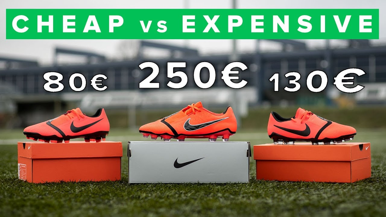 7dc06daefe CHEAP vs EXPENSIVE | All Nike Phantom Venom football boots 2019 ...