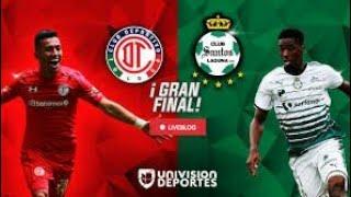 Repeticion: Toluca vs Santos Laguna Liga MX Clausura 2018 Liguilla Final Vuelta Completo | UDN