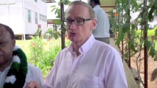 Senator the Hon Bob Carr the then Minister for Foreign Affairs visit to PNG