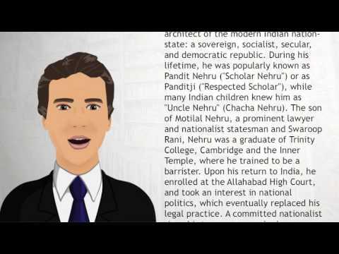 Jawaharlal Nehru - Wiki Videos