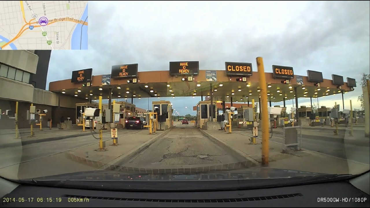 Canada United States Border Crossing Bluewater Bridge - Us canada border crossings map