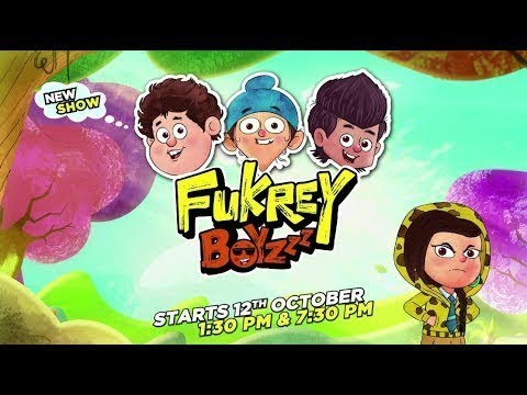 Fukrey Boyzzz - New show trailer reveal | Start 12th Oct Everyday 1.30 PM & 7.30 PM | Discovery Kids