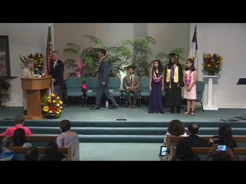 Canyon Ridge Christian Prep Senior Graduation