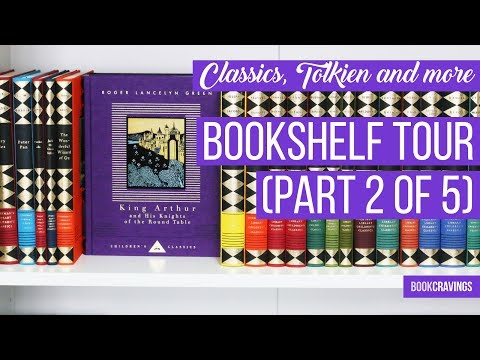 Everyman's Library, Children's Classics, Tolkien and More | Bookshelf Tour (Part 2 of 5)