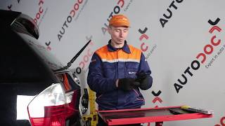 Naprawa BMW X3 samemu - video przewodnik samochodowy