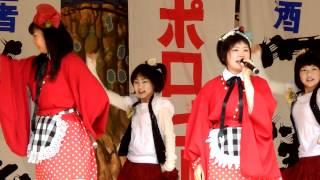 5月5日(日) 弘前さくら祭りりんご娘、アルプスおとめライブ よりり...