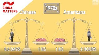 How have Chinese people's lives changed over 40 years?