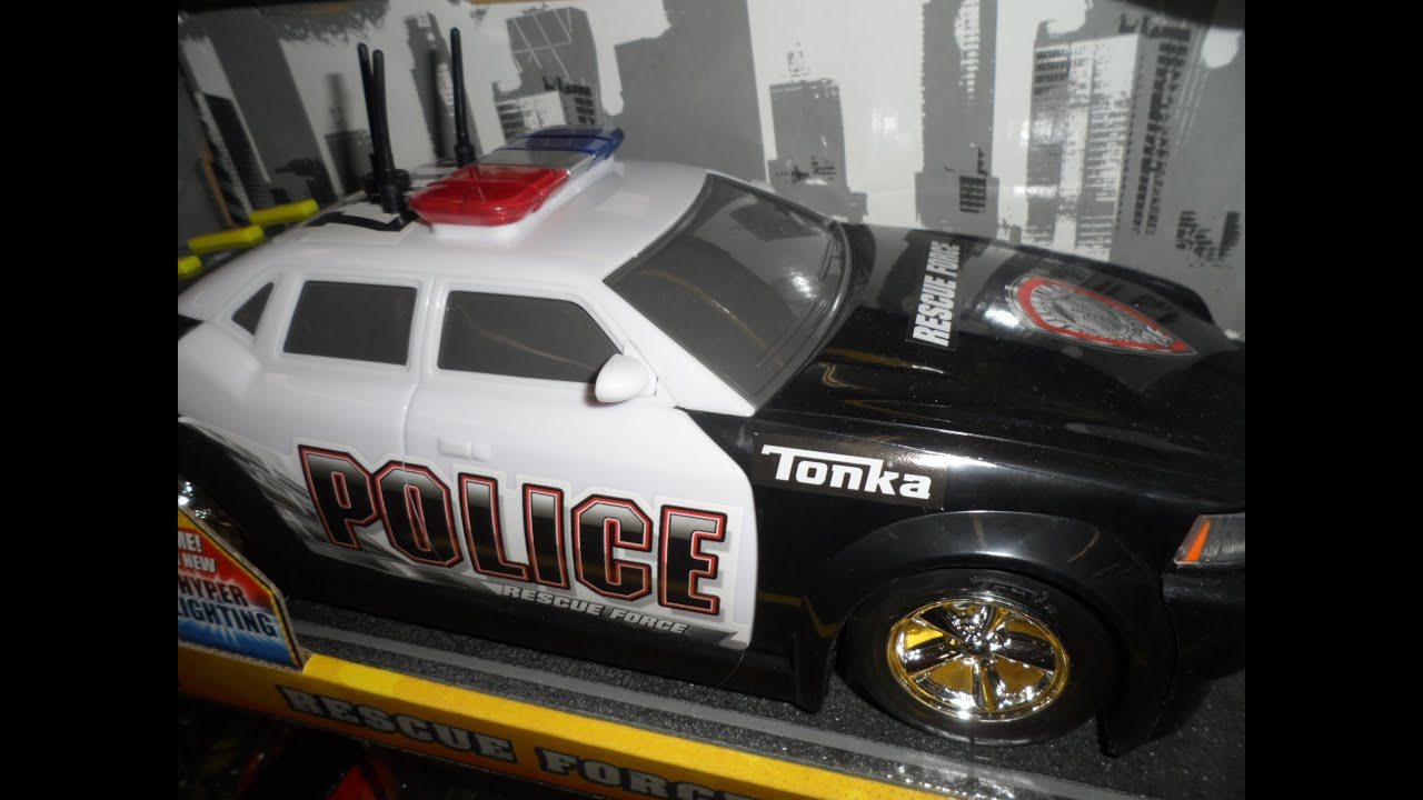 Amazing Ford Tonka Toys Police Car Sounds Hyper Lights Youtube