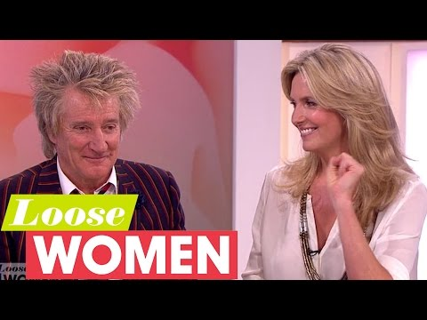 Rod Stewart And Penny Lancaster Explain How They Met | Loose Women