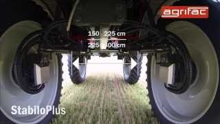 agrifac condor stabiloplus developed for one purpose self propelled spraying