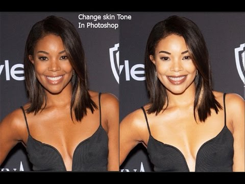 How To Change A Person Skin Tone In Photoshop