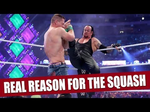 The Real Reason Why The Undertaker Beat John Cena in Only 2 Minutes! thumbnail