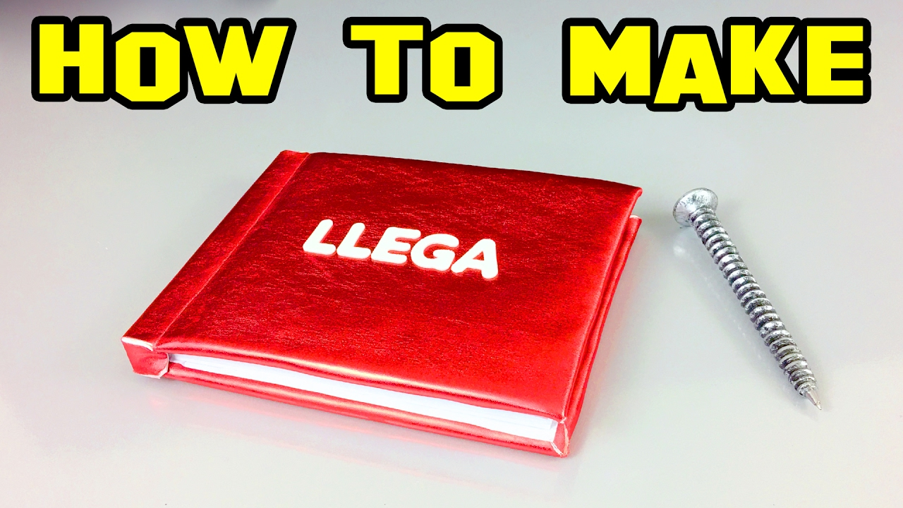 How To Make A Craft Book Unique And Homemade Diy Youtube