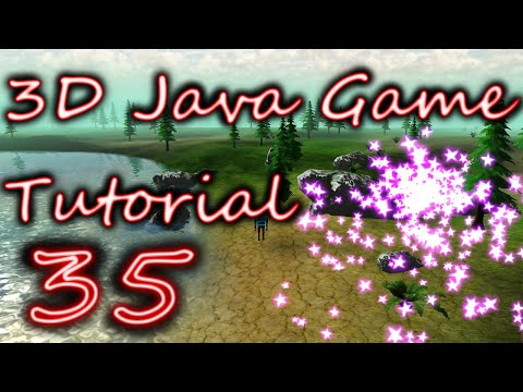 OpenGL 3D Game Tutorial 35: Animating Particle Textures