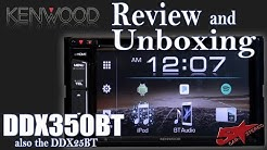 Kenwood's new 2018 DDX350BT review and unboxing