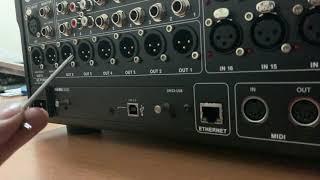 Instalación klark teknik DN32 -LIVE instalar m32r midas