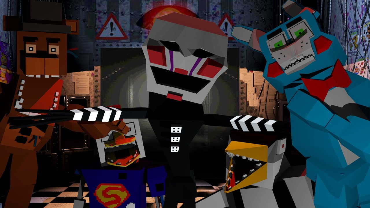FIVE NIGHTS AT FREDDYS MOD! (Freddy, Foxy, Chica