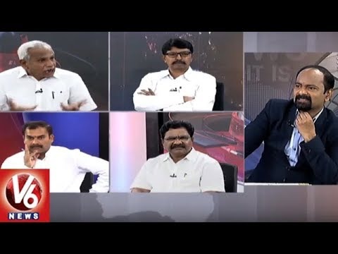 Special Debate | CM KCR Review Meet On Mission Bhagiratha | Good Morning Telangana | V6 News