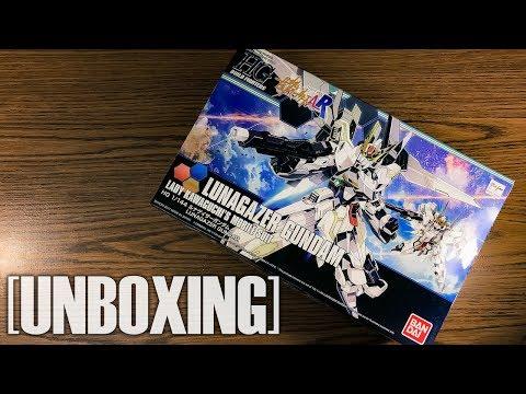 [UNBOXING] 1/144 HGBF Lunagazer Gundam