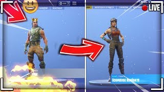 HOW to use HXD TO REMPLACER a FORTNITE SKIN!