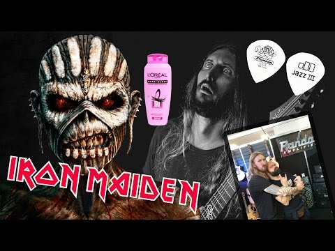 FAQ#9 - Why I hate Iron Maiden, Guitar picks, Shampoo and Selfies with fans