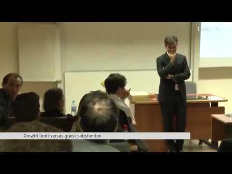 Nicolas Béliard - GM Peninsula Paris - Conference at ESSEC IMHI on November 12th