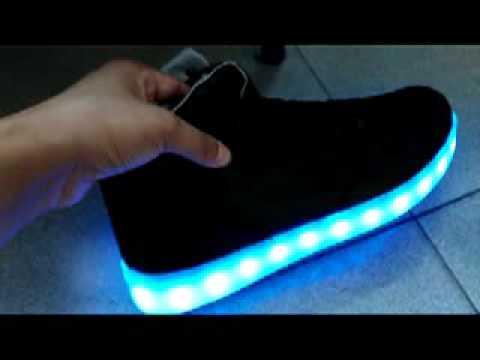 nueva estilos e5672 ae60f Zapatos con luces LED