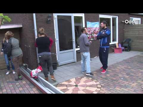 Gezin in Diepenveen op straat vanwege burenruzie