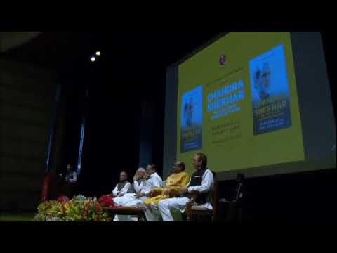 "PM Shri Narendra Modi releases the book, ""Chandrashekhar: The Last Icon of Ideological Politics"""