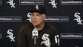 MIN@CWS: Renteria on the blowout loss to the Twins