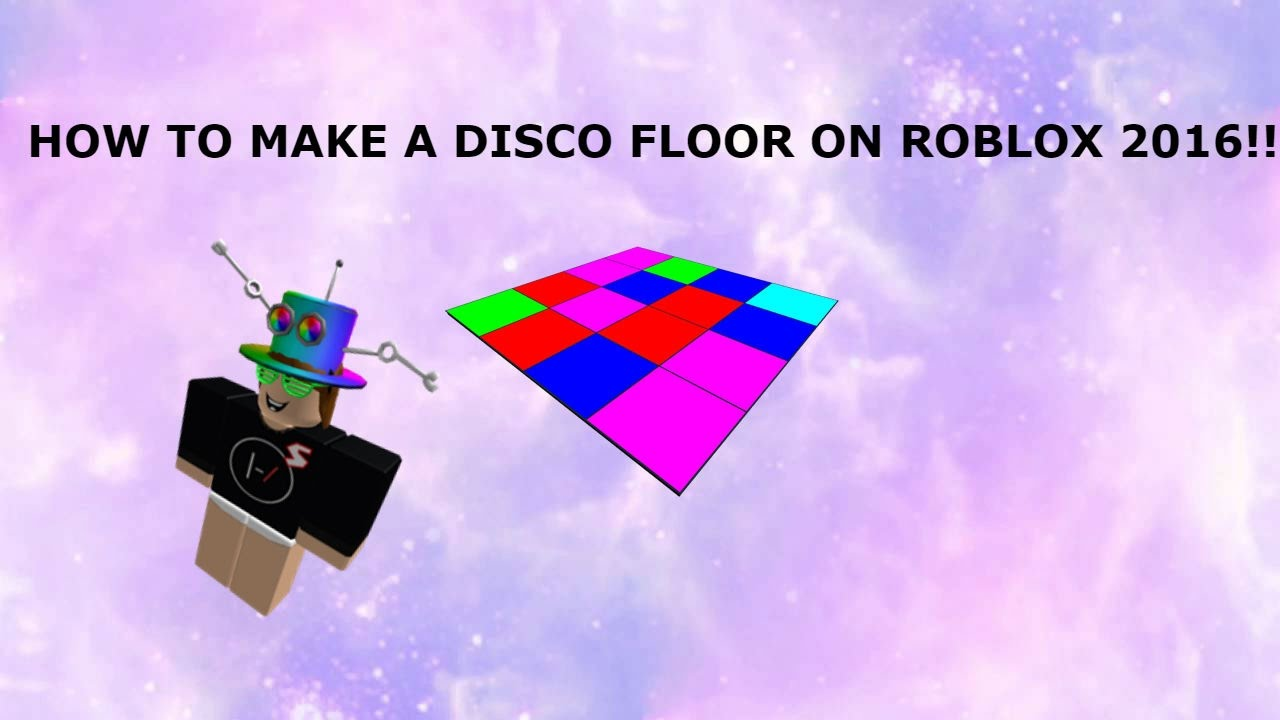 How to make a dance floor on roblox 2016 youtube how to make a dance floor on roblox 2016 solutioingenieria Image collections