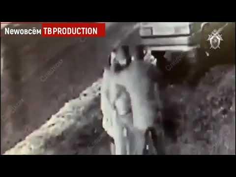 Убийство возле караоке бара в Москве попало на видео