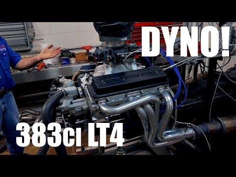 383ci Lt4 Lt1 Sbc On The Dyno Making Over 480hp Youtube