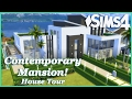 The Sims 4 - Contemporary Mansion! (House Tour)
